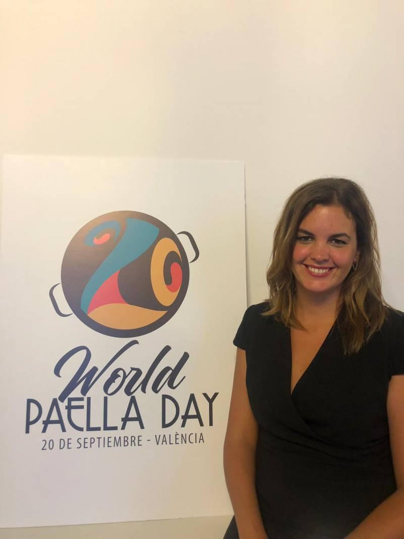 Sandra Gómez, Día Mundial de la Paella