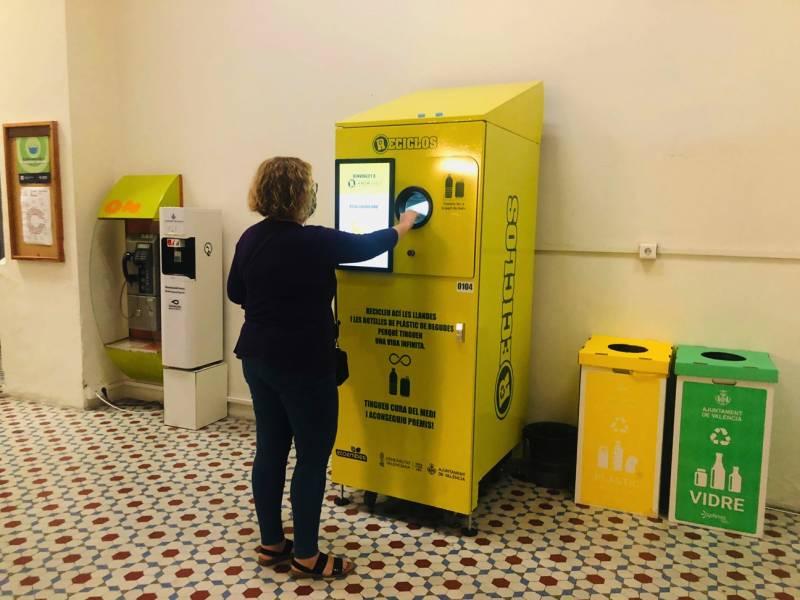 Màquines de recompensa per al reciclatge d