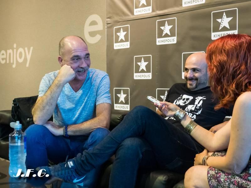 Darío Grandinetti y Lucas Figueroa