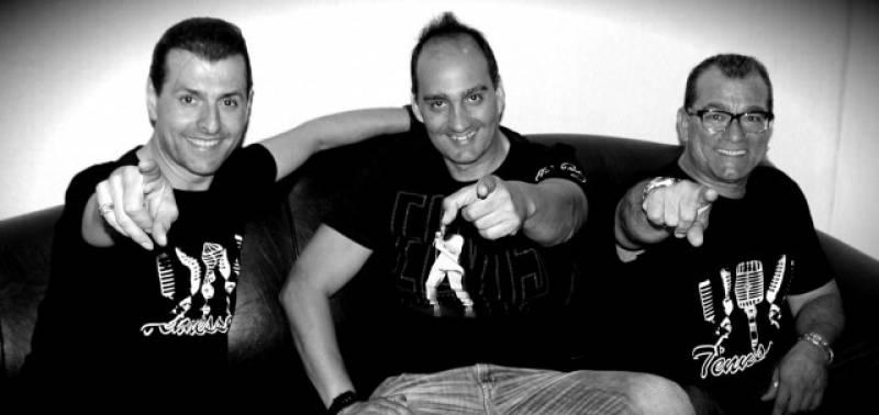 La banda Tenesee, en una foto promocional : : La Rambleta