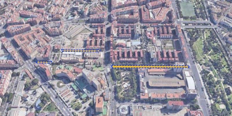 Imagen de archivo Calle Ricardo Micó, València./ EPDA