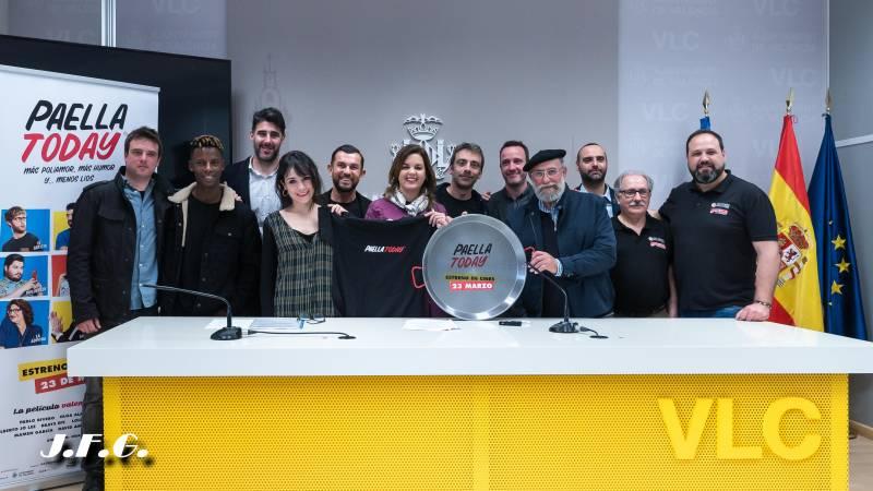 Propuesta del día internacional de la paella valenciana coincidiendo con el preestreno de Paellatoday en IVAC La Filmoteca