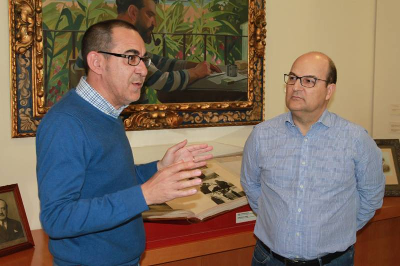 Emilio Sales y Óscar de Alfonso