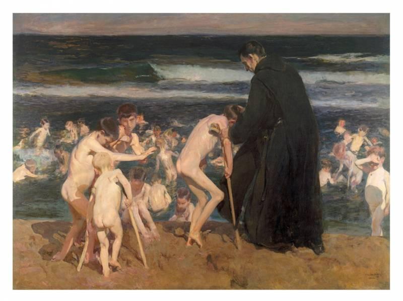 Triste herencia. 1899. Joaquín Sorolla