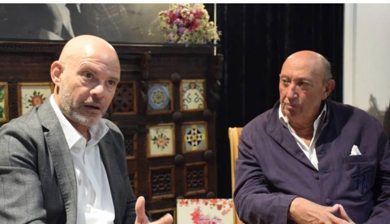 Francis Montesinos y Xavier Martorell./ EPDA