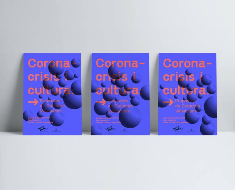 Cartel exposición Coronacrisis./ EPDA