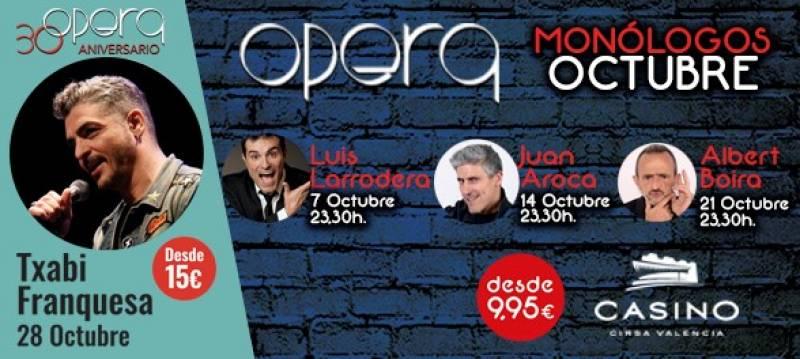 Monólogos Ópera octubre 2017