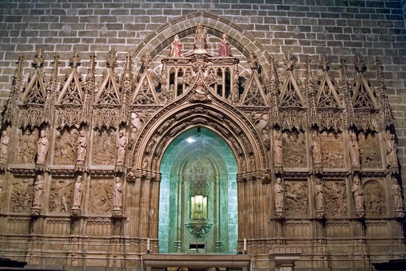Santo Grial en la catedral de Valencia. FOTO EPDA