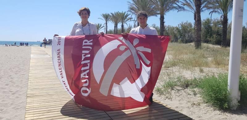 Entrega distintivos calidad playas