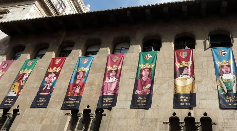 Monarques medievals del Regne de València