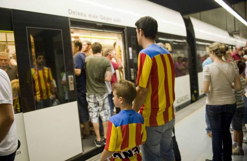 Servicios especiales de Metrovalencia  para el Trofeo Naranja