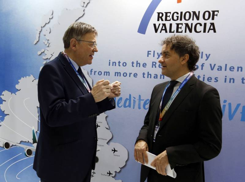 Ximo Puig y Francesc Colomer