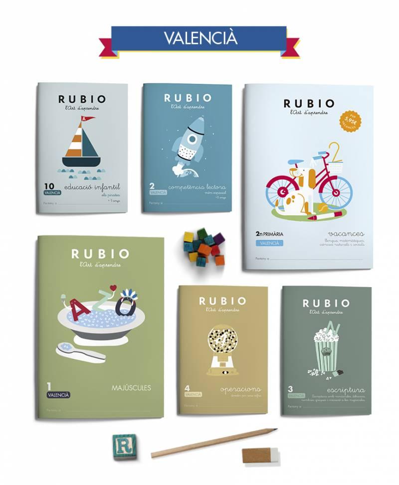 Novedades Cuadernos Rubio