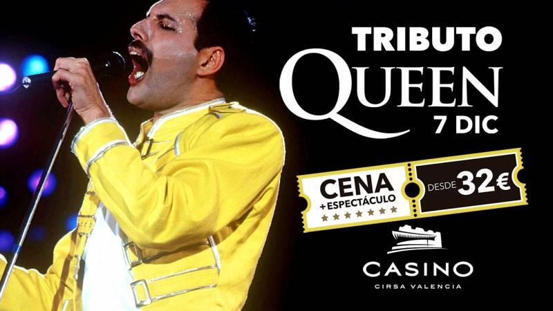 Tributo Queen diciembre Casino Cirsa Valencia
