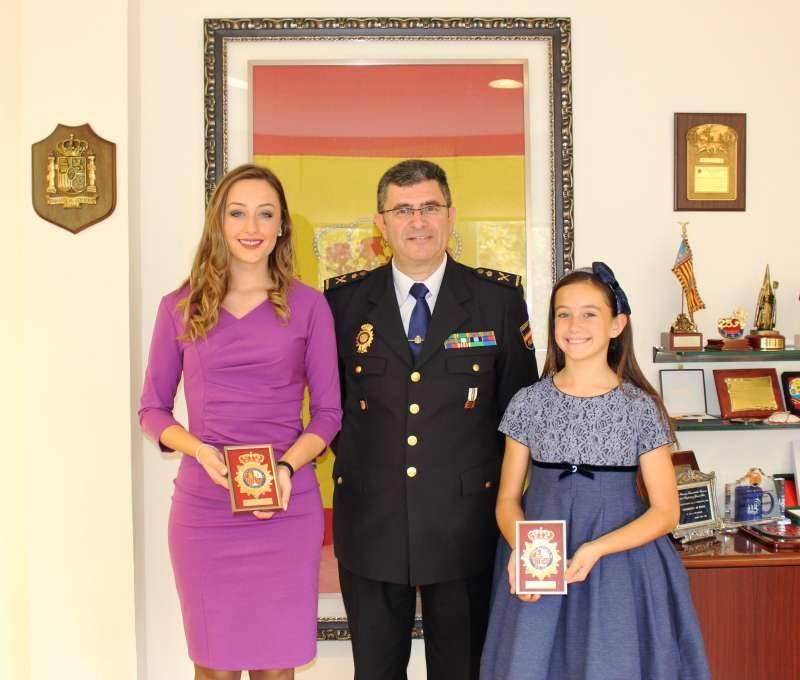 Rocío Gil y Daniela con José Javier Cuasante