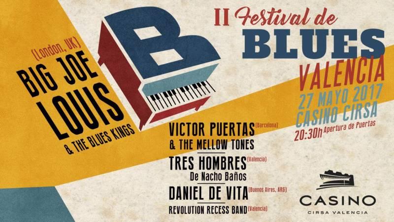 Festival Blues en Casino Cirsa Valencia