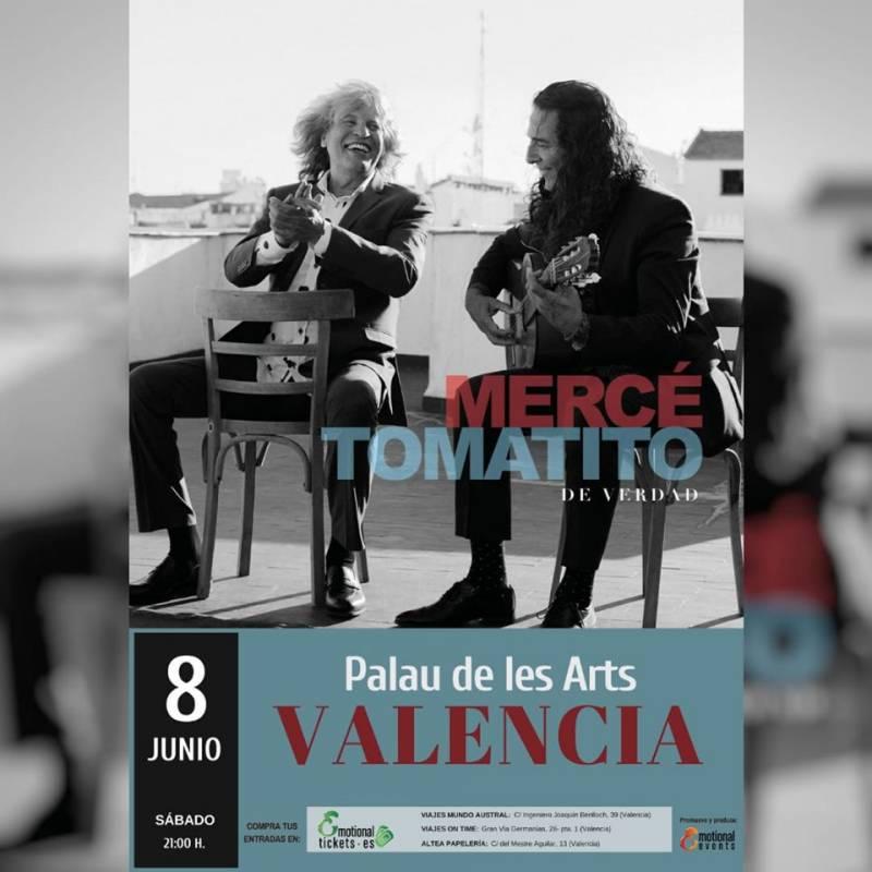 Cartel José Mercé y Tomatito