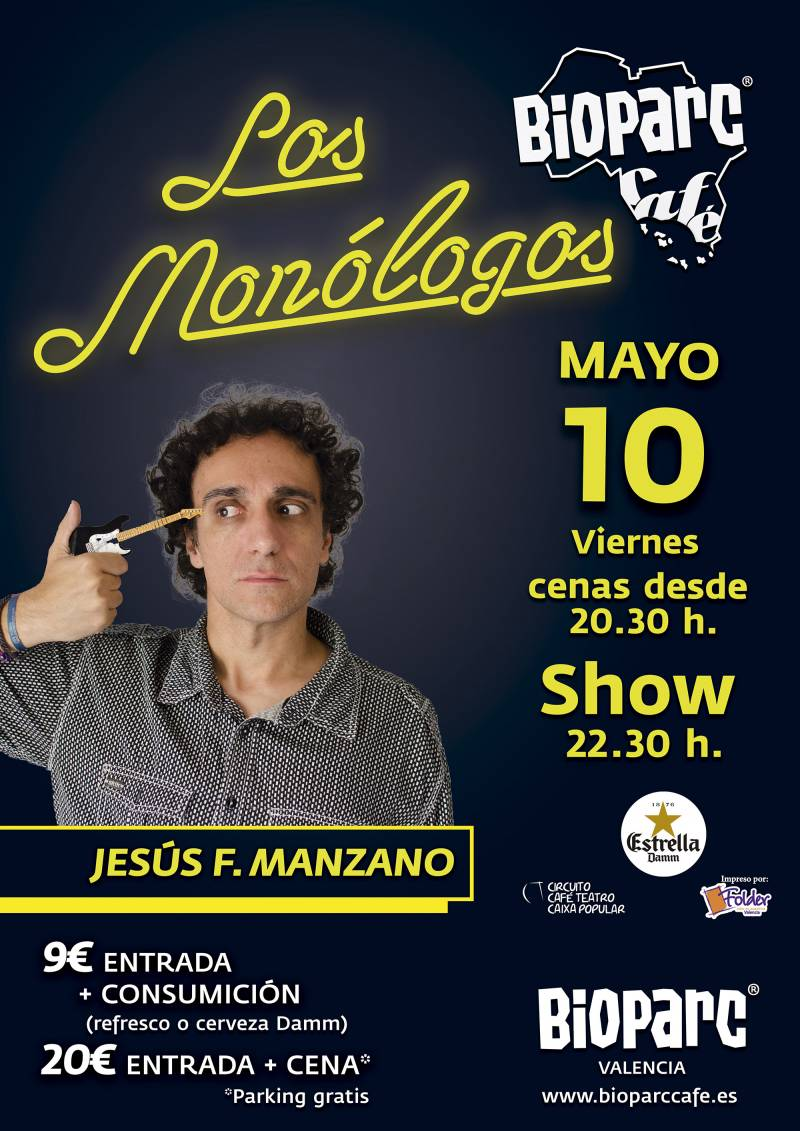 Los Monologos de BIOPARC Cafe - 10 mayo 2019 - Jesus F Manzano