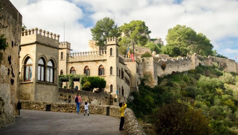 Castillo de Xátiva - Monilemor fotografía