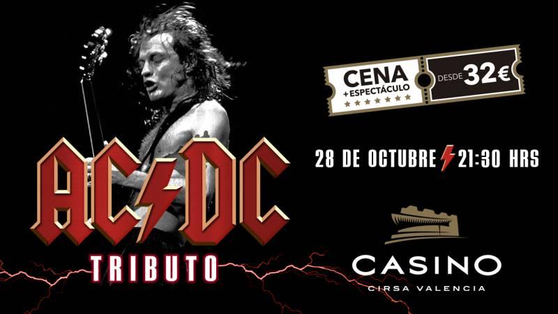 Tributo a AC/DC en Casino Cirsa Valencia