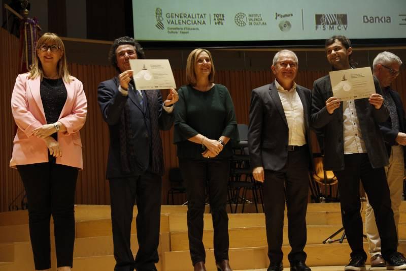 Final Orquestas diplomas - Foto Nuestras bandas de música