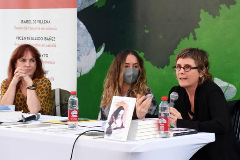 Entrega de premis a la Fira del Llibre de València.