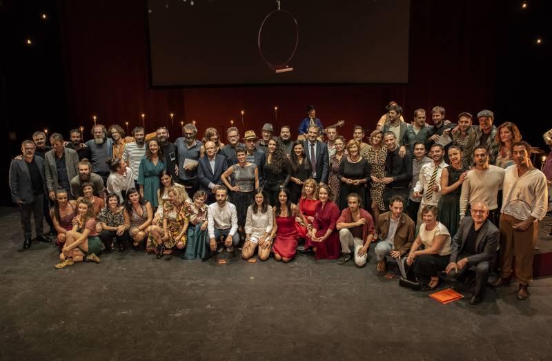 'El jardí dels cirerers', de la compañía Teatre Micalet, mejor espectáculo de teatro de los Premios de las Artes Escénicas Valencianas