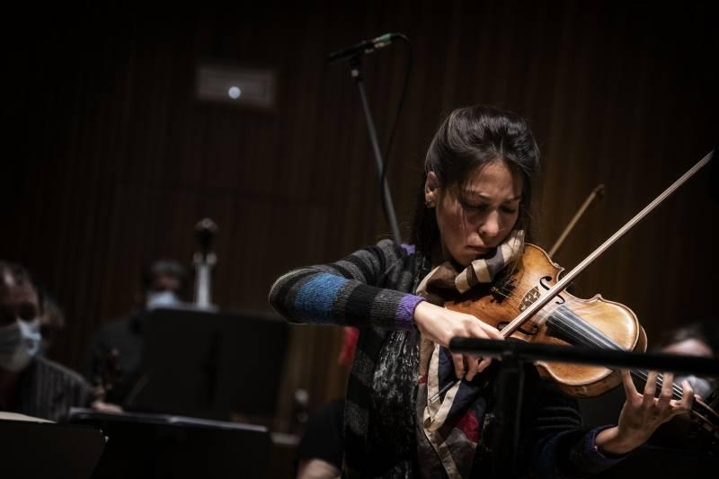 La violinista Leticia Moreno. EPDA.