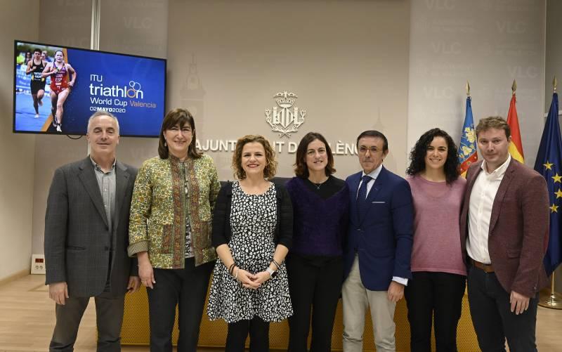 Presentación Copa del Mundo Triatlón València 2020
