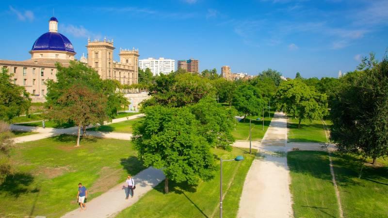 Como las reivindicaciones ciudadanas evitaron que los - Jardin del turia valencia ...