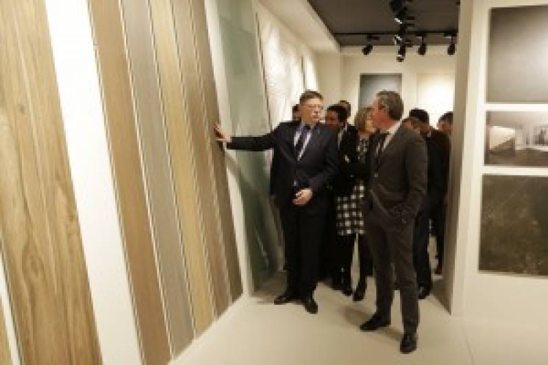 El presidente de la Generalitat ha inaugurado esta cita ferial//A. Sáez