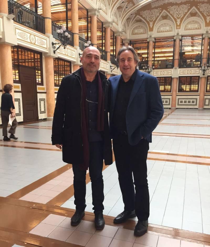 Els diputats Xavier Rius i Juanjo Puigcorbé
