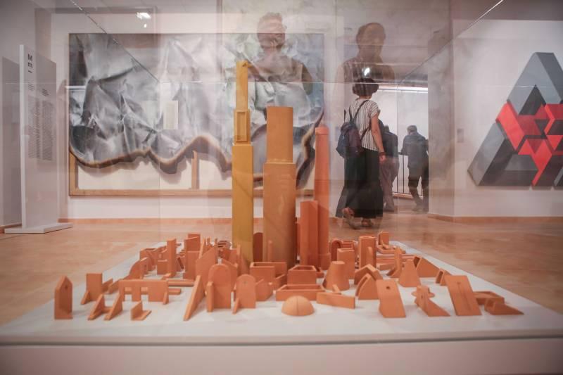 Imagen de la exposición que actualmente se exhibe en Requena