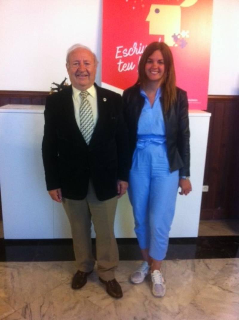 Sandra Gómez y Isidoro Alés