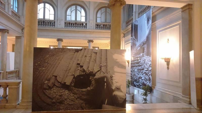 Expo 80 años bombardeos italianos