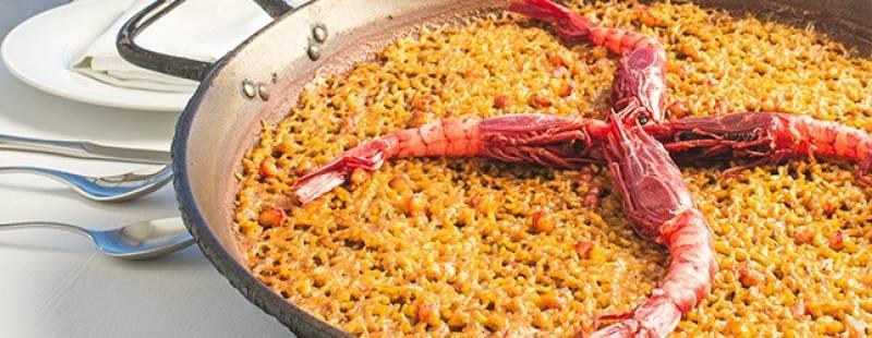 Un fabuloso arroz marinero