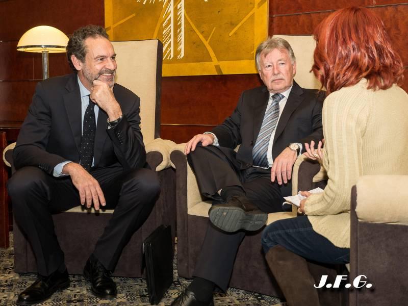 Andrés Conde, Robert Good, Carmela Sánchez
