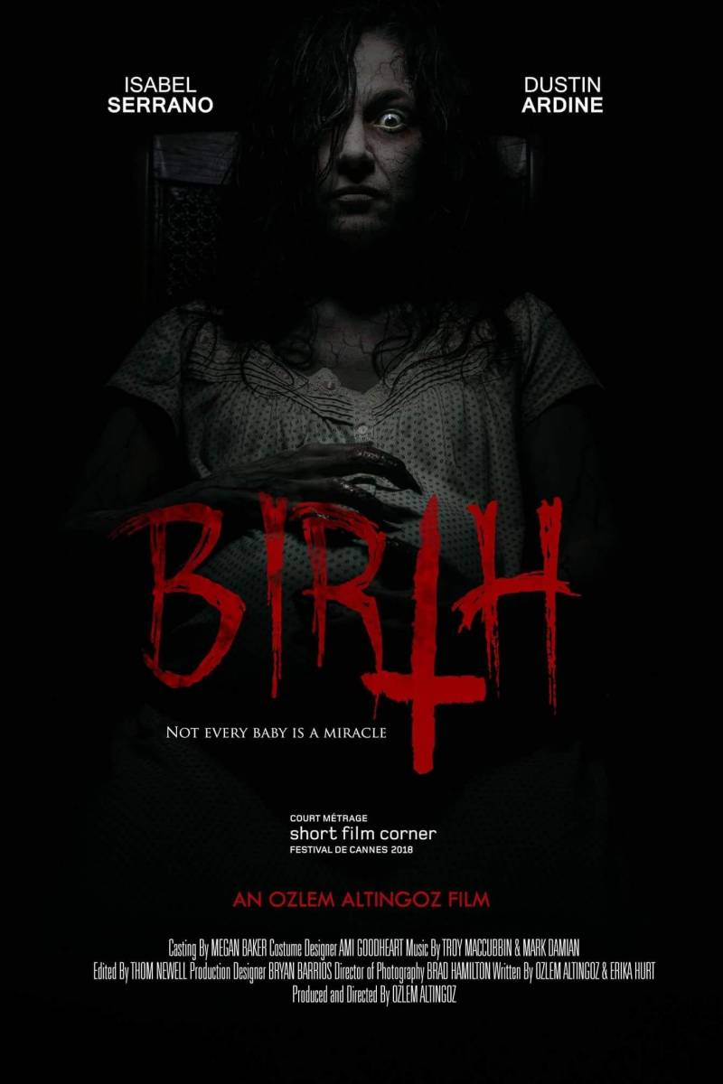 Horror movies cortometraje Birth