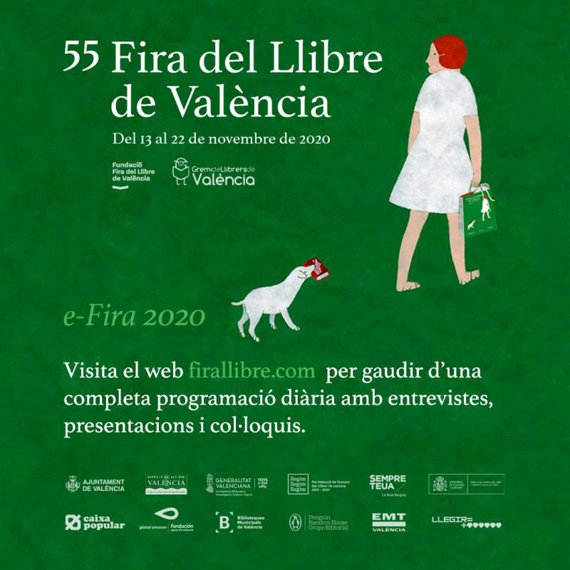 Cartel Fira del Llibre València./ EPDA