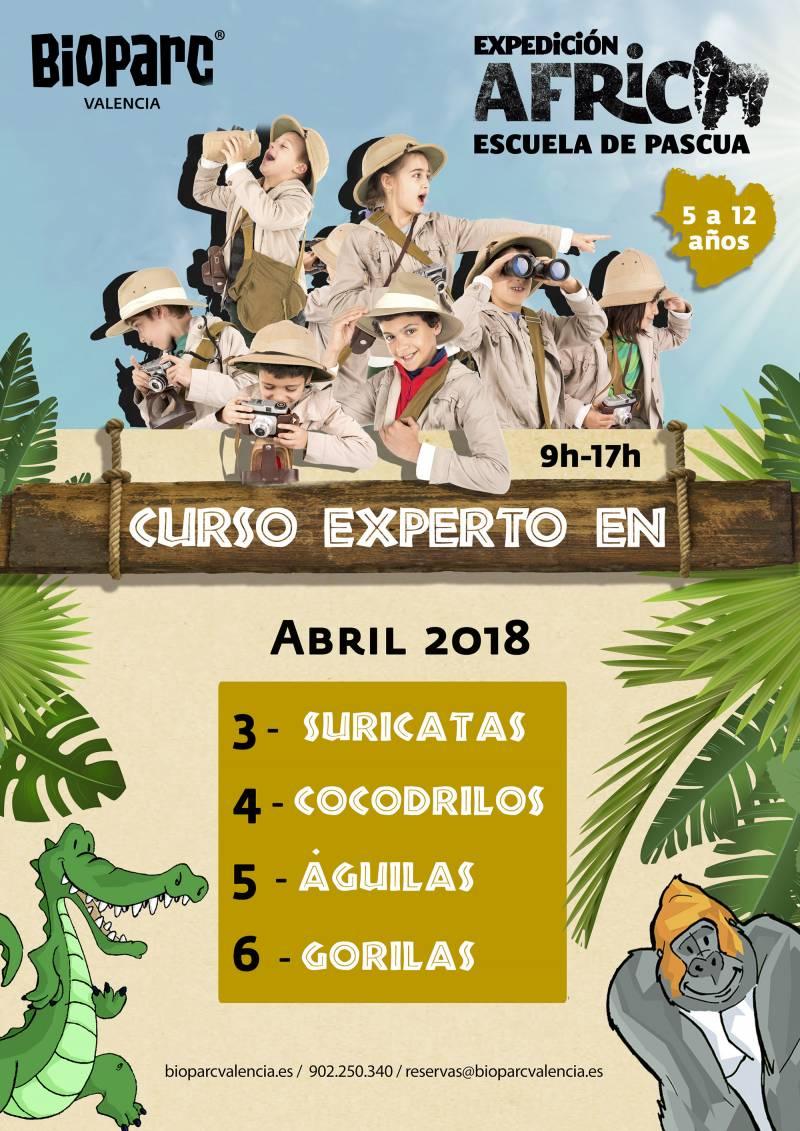 Escuela de Pascua - Expedicion Africa 2018 - BIOPARC Valencia