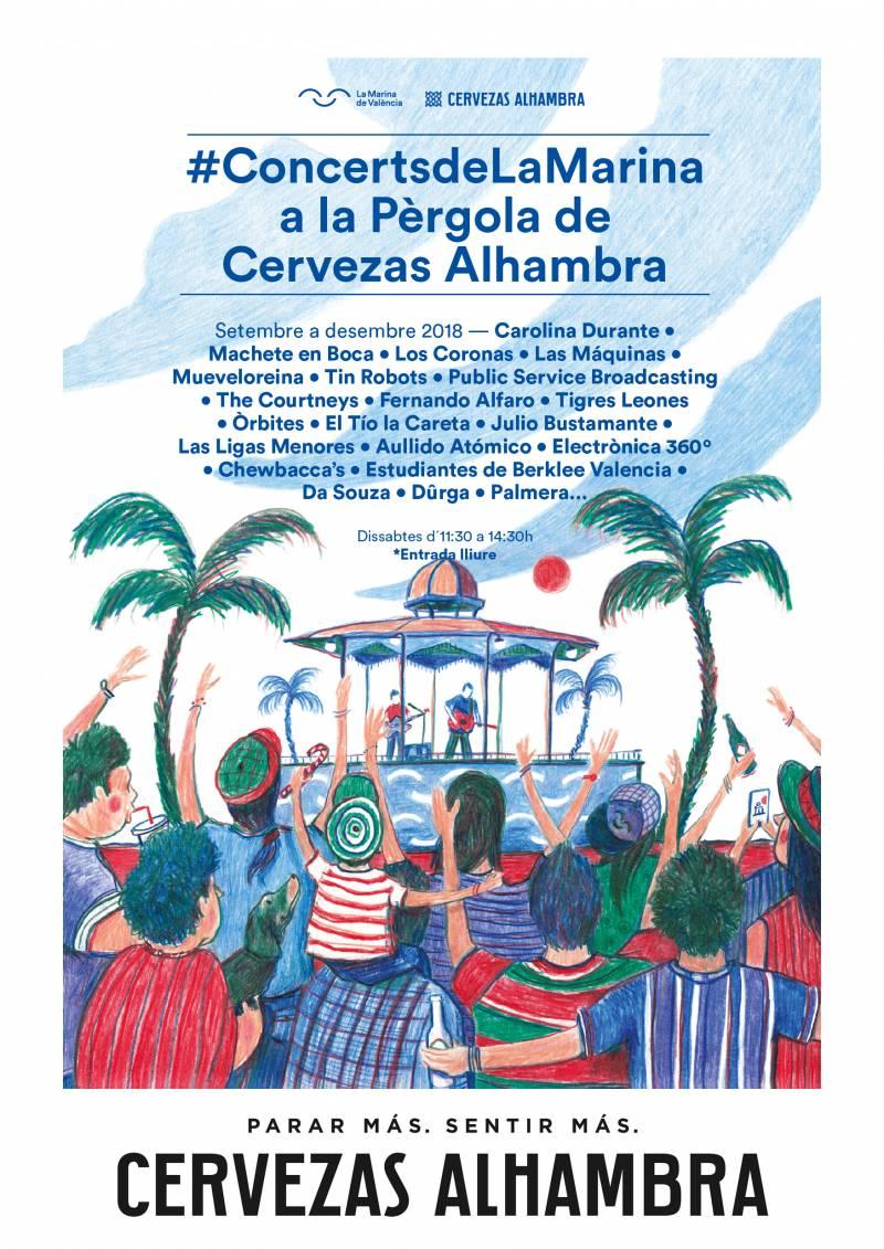 #ConcertsdeLaMarina