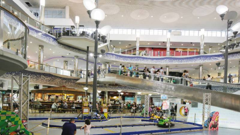 Imagen de archivo centro comercial El Saler./ EPDA