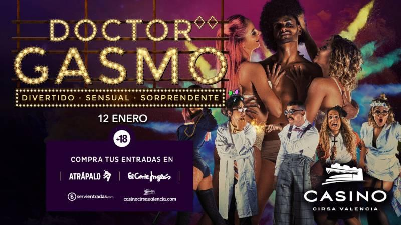 Dr Gasmo 12 enero Casino Cirsa Valencia