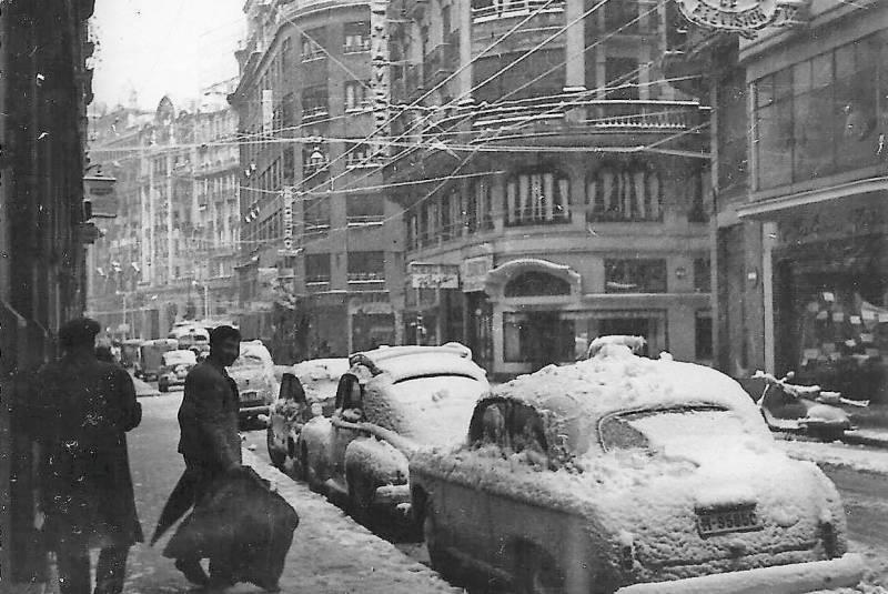 Mañana se cumplen 60 años de la gran nevada que cubrió València