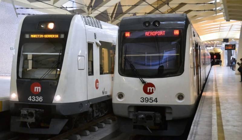 Imagen de archivo Metrovalencia./ EPDA