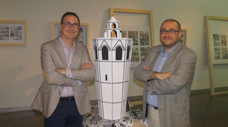 Enric Trilles, comissari de la mostra, i Rafael Company, director del MuVIM