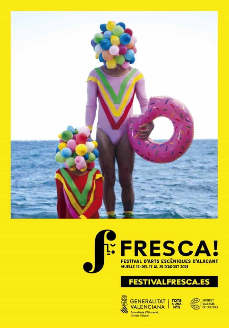 Cartell del festival FRESCA!. EPDA