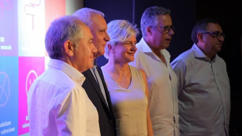 ABEL GUARINOS, ALBERT GIRONA, PILAR MONCHO, EVARIST CASELLES y VICENT LLORENS