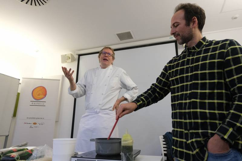 Masterclass de  Bernd Knöller, chef del restaurante Riff