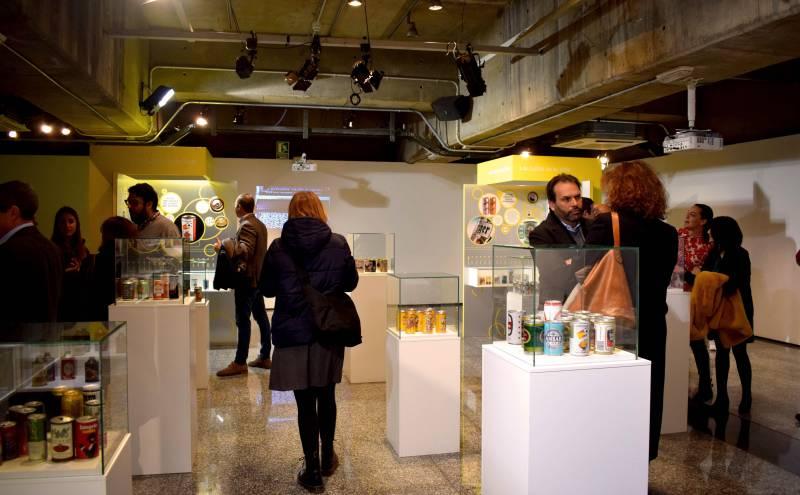La sala Lametro de la estación de Colón de Metrovalencia acoge la exposición